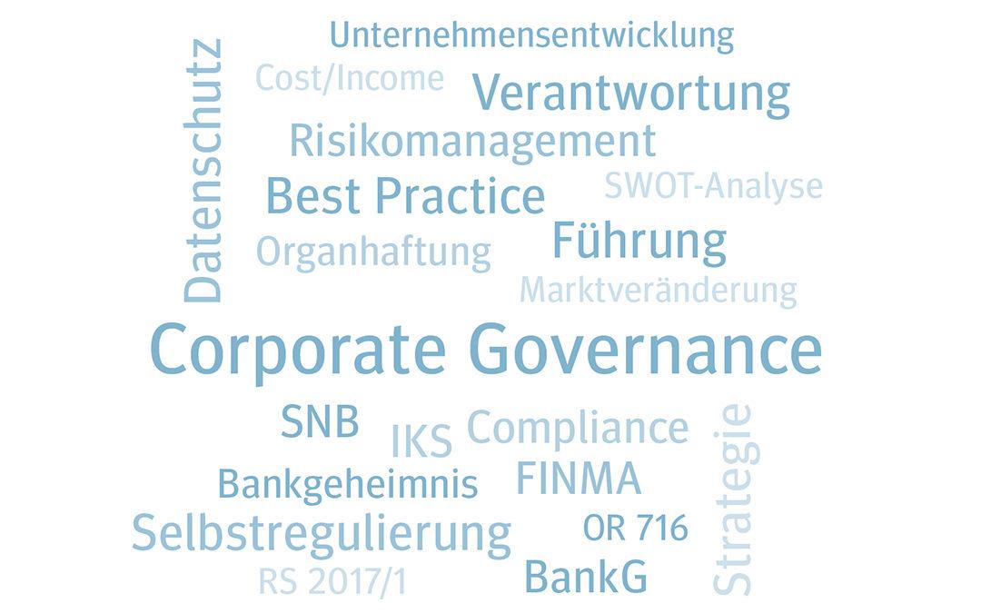 Grundlagenseminar für (neue) Bank Verwaltungsräte 2022